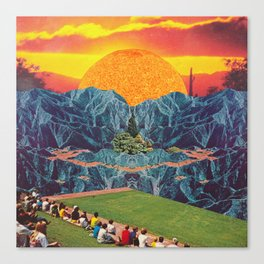 Parque del Sol  Canvas Print