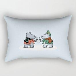 Two Cups Rectangular Pillow