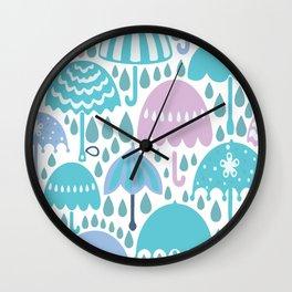 RAINY DAY Wall Clock