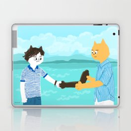 Call me by your name - Handshake Laptop & iPad Skin