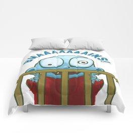 Nobody puts Baby Zombie in a corner! Comforters