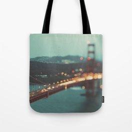 San Francisco Golden Gate Bridge, Sweet Light Tote Bag