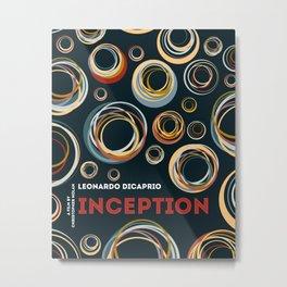 Inception - Leonardo DiCaprio Tom Hardy Movie Film Poster Art Print Wall Decor Metal Print