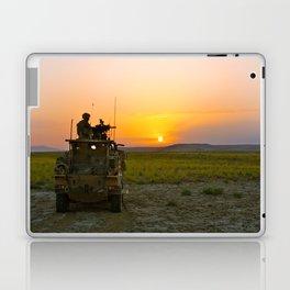 Sunrise looking over the Dashti Margo Laptop & iPad Skin