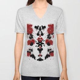 Rorschach 9 Unisex V-Neck