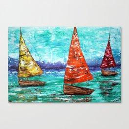 Sailboat Dreams Canvas Print