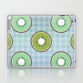 Kiwi summer fruit Laptop & iPad Skin