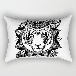 ANIMANDALA BAAGH Rectangular Pillow