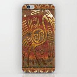 Mexicano Chrome Tribal Art iPhone Skin
