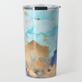 Abstract watercolor Travel Mug
