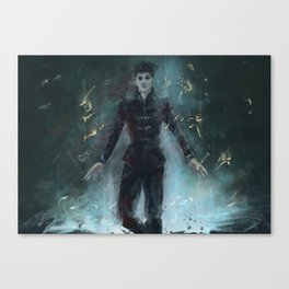"""""""The Outsider"""" Dishonored Canvas Print"""
