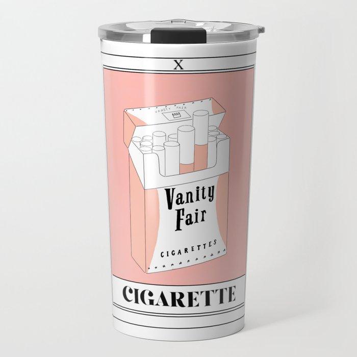 the cigarette tarot card Travel Mug