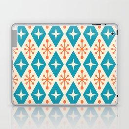 Mid Century Modern Atomic Triangle Pattern 107 Laptop & iPad Skin