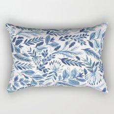 indigo scatter Rectangular Pillow