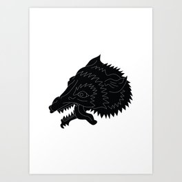 Eldem Wolf Print Art Print