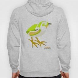 Rock Wren New Zealand Bird Hoody