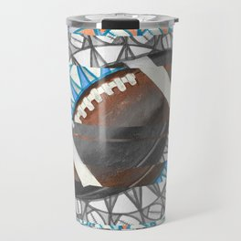 The perfect pass / American football Travel Mug
