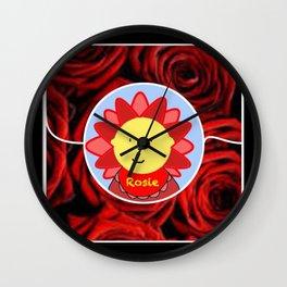 Baby Rosie Wall Clock