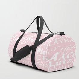 Figure Skating Subway Graphic Design Duffle Bag
