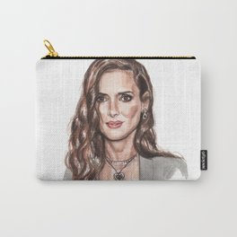 Ryder Die - Winona Ryder Funny Illustration Carry-All Pouch