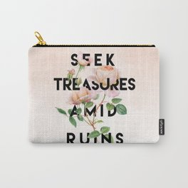 Seek Treasure Carry-All Pouch