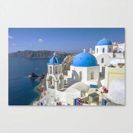 Santorini, Oia Village, Greece Canvas Print