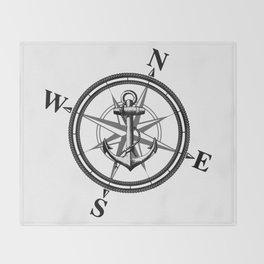 Nautica BW Throw Blanket