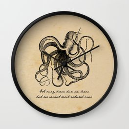 Jules Verne - 20000 Leagues Under the Sea Wall Clock