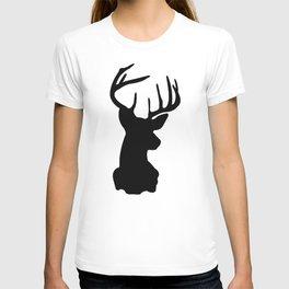 Black & White Stag Head T-shirt