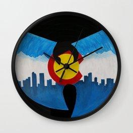 Mile High Wu Tang #2 Wall Clock