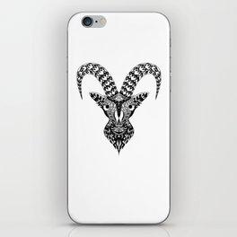 Black Goat iPhone Skin