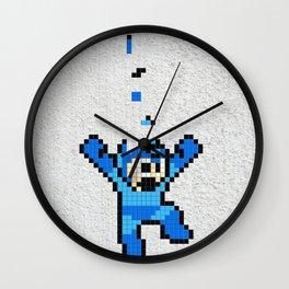 Megaman Tetris Wall Clock