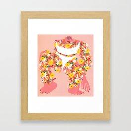Say Beautiful Framed Art Print