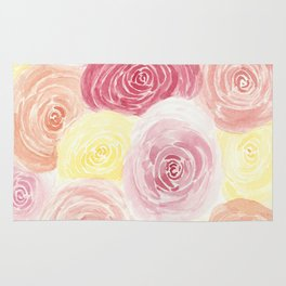Pile of Warm Roses Rug