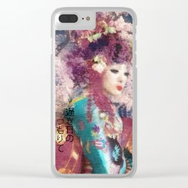 Days of Spring Clear iPhone Case