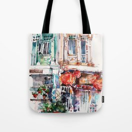 Shophouse Windows at Bukit Pasoh, Singapore Tote Bag