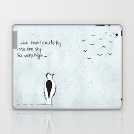 I wish that I could fly Laptop & iPad Skin