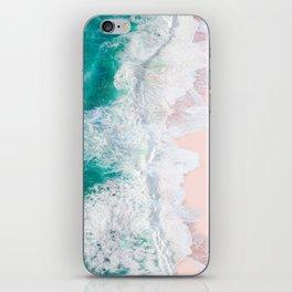 Pink Sand Beach iPhone Skin