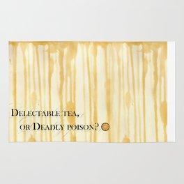 Delectable tea, or Deadly poison? Rug