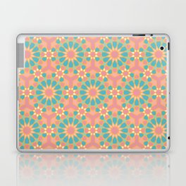 Vintage colors islamic geometric pattern Laptop & iPad Skin