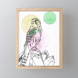 crystal talons Framed Mini Art Print