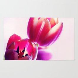 Happy Tulip Greetings Rug