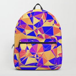 Colorful Polygonal Pattern Backpack