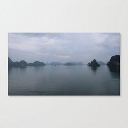 Ha Long Bay Mist Canvas Print