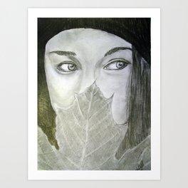 Tree Ninja Art Print