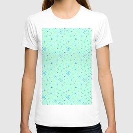 Atomic Starry Night in Mod Mint T-shirt