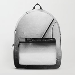 Russian Soviet Vehicle Door and Lock BW Backpack