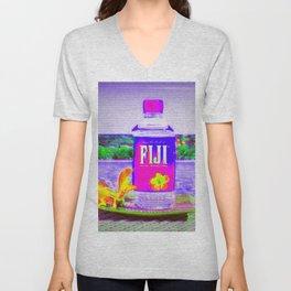 Fiji Water Unisex V-Neck