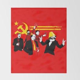 The Communist Party (original) Throw Blanket