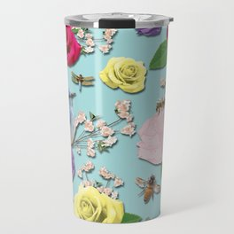 Martha's Garden Travel Mug